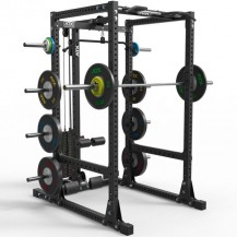 ATX KLETKA POWER RACK 770 225CM S POSTAJO ZA POTEGE PLATE LOADED ali STACK WEIGHT