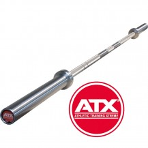 ATX PALICA 50mm OLIMPIJSKA 220 CM MAX 700KG POWER BAR CHROME+ SREDINSKI KNURL