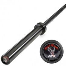ATX PALICA 50mm OLIMPIJSKA 220 CM MAX 700KG POWER BAR ČRNA BLACK MAMBA