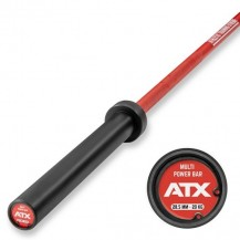 ATX OLIMPIJSKA PALICA CERAKOTE MULTI POWER BAR FIRE RED 220CM MAX 600kg