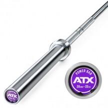 ATX PALICA 50mm OLIMPIJSKA 220 CM MAX 700KG POWER BEARING BAR CHROME