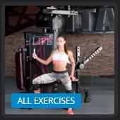 Multifunkcijska fitnes naprava vse vaje