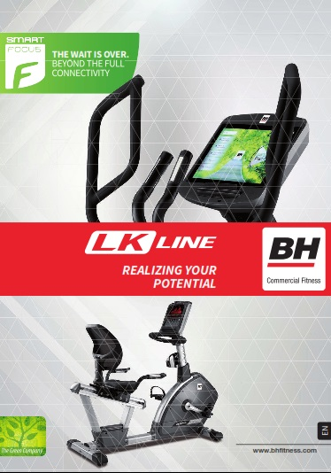 Katalog BH fitness LK LINE